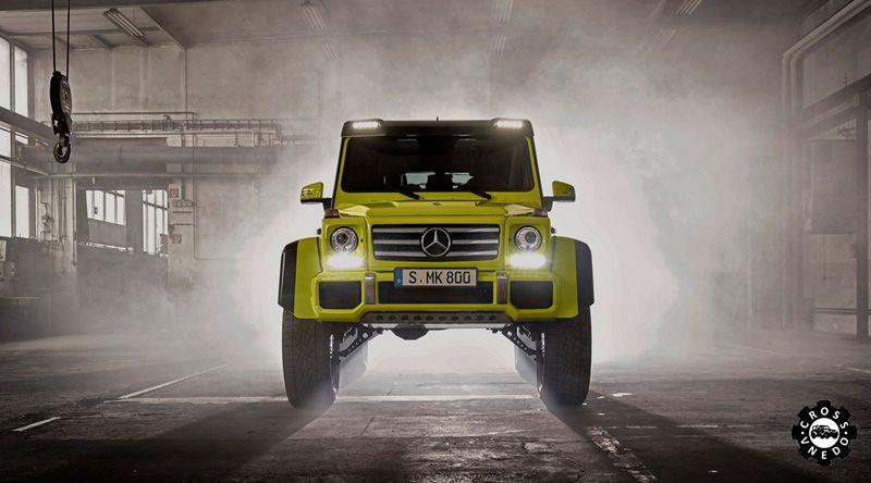 Новый внедорожник Mercedes Benz G500 4x4