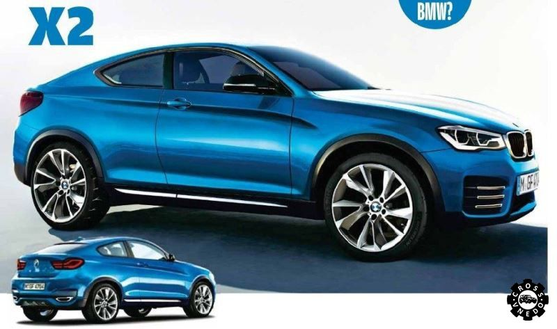 Прототипы BMW X2 фото