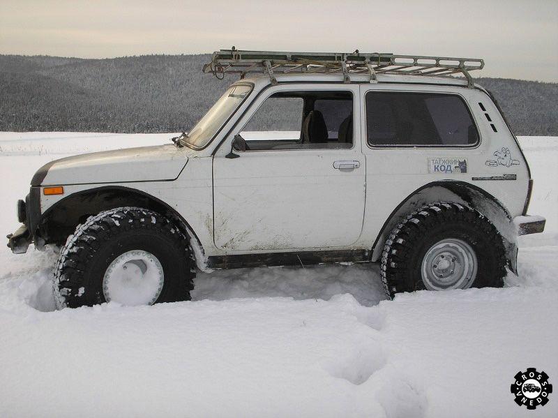 Шины для Нивы по снегу