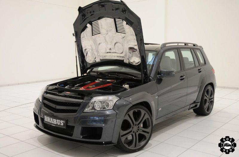 Самый быстрый джип Brabus GLK V12