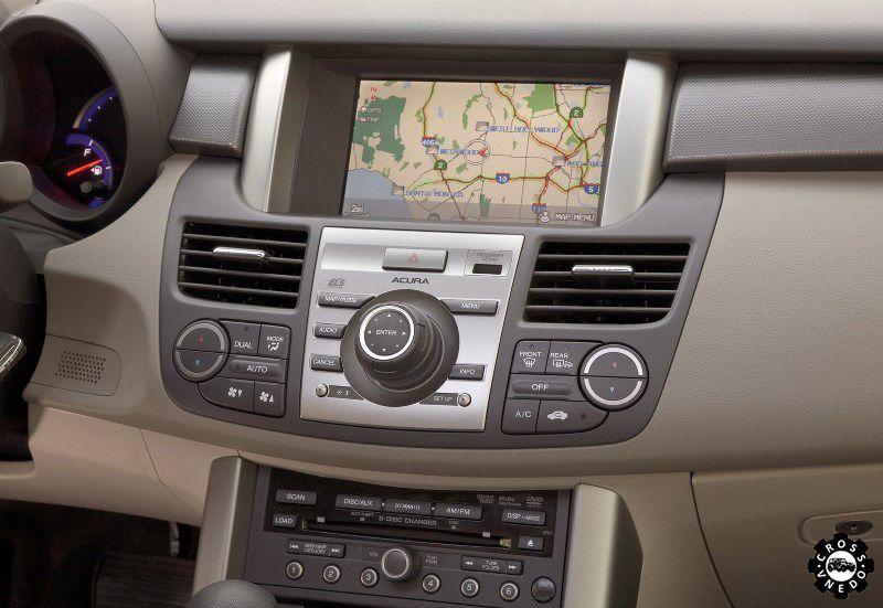Система управления Acura RDX 2013 года