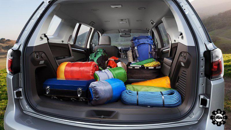 TrailBlazer 2 Шевроле багажник