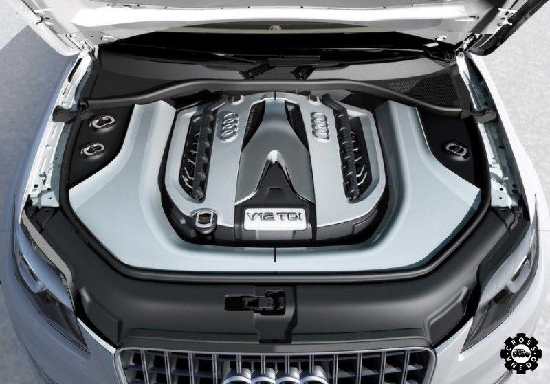 Audi Q7 2015 двигатель авто