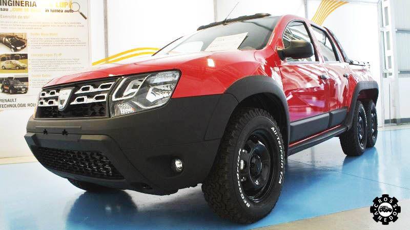 Dacia Dustruck шестиколесный внедорожник