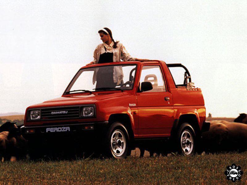 Daihatsu Feroza фото авто