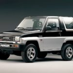 Джип Daihatsu Feroza: технические характеристики