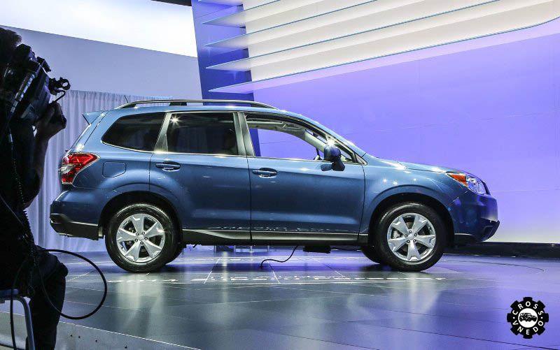 Фото нового Subaru Forester экстерьер