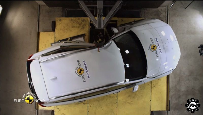 Краш тест Volvo XC90 на Euro NCAP