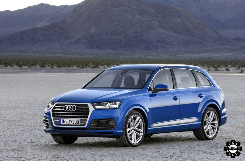 Новая Audi Q7 2015 года