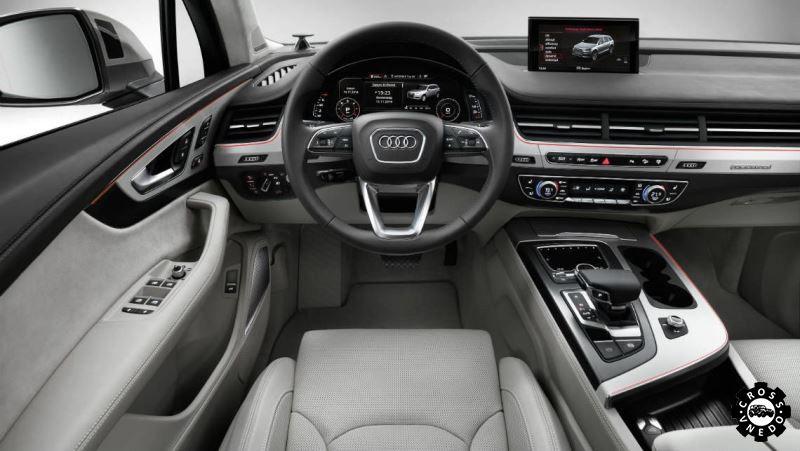 Салон рестайлингового Audi Q7