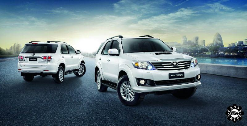 Toyota Fortuner 2015 года фото