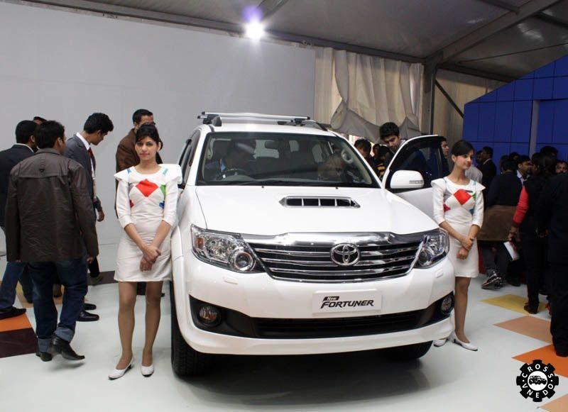 Toyota New Fortuner 2015 презентация авто