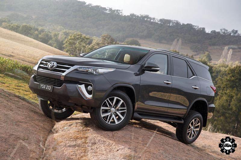 Внедорожник Toyota Fortuner 2015