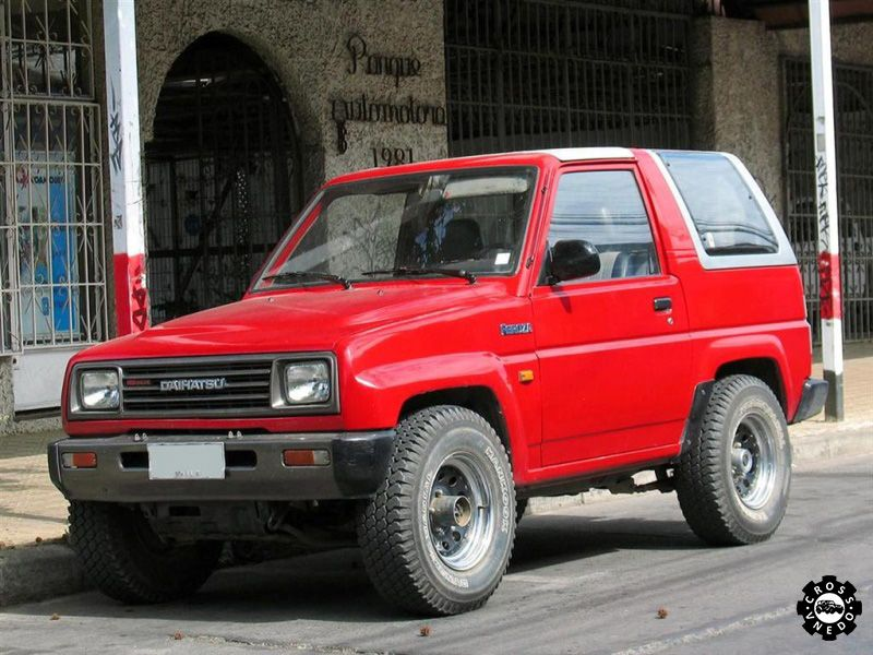 Внешний вид Daihatsu Feroza