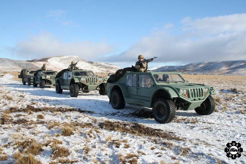 Военный автомобиль VLEGA Gaucho