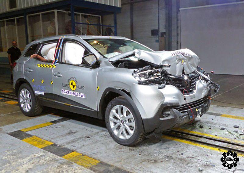 Volvo XC90 5 звезд по результатам краш теста