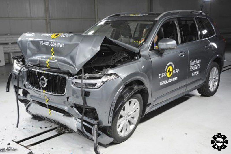 Volvo XC90 побеждает на Euro NCAP