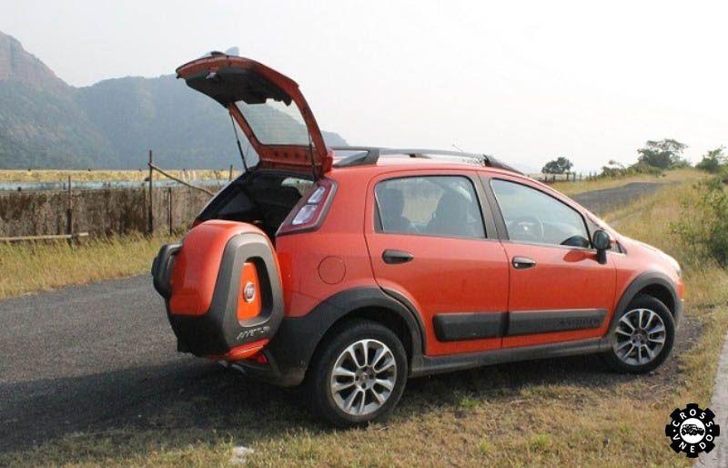 Fiat Avventura на природе
