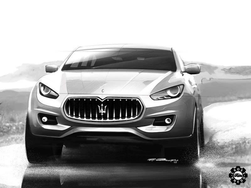 Концепт Maserati Kubang