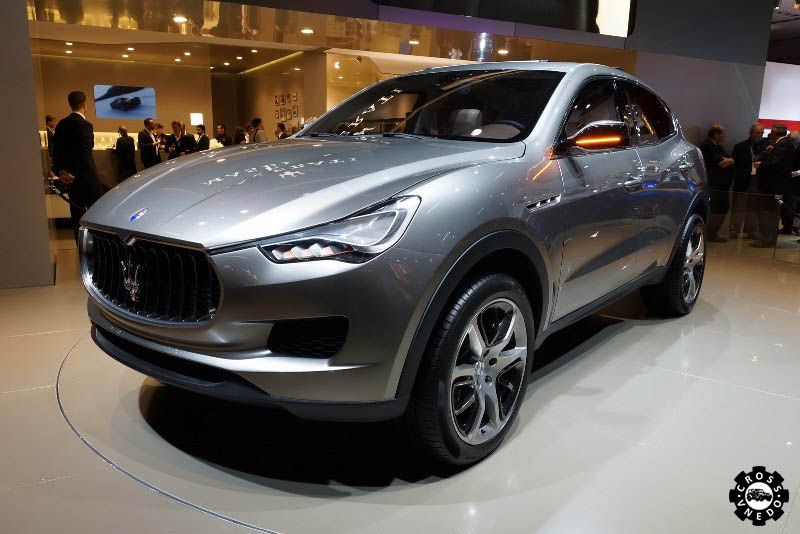 Maserati Kubang кроссовер