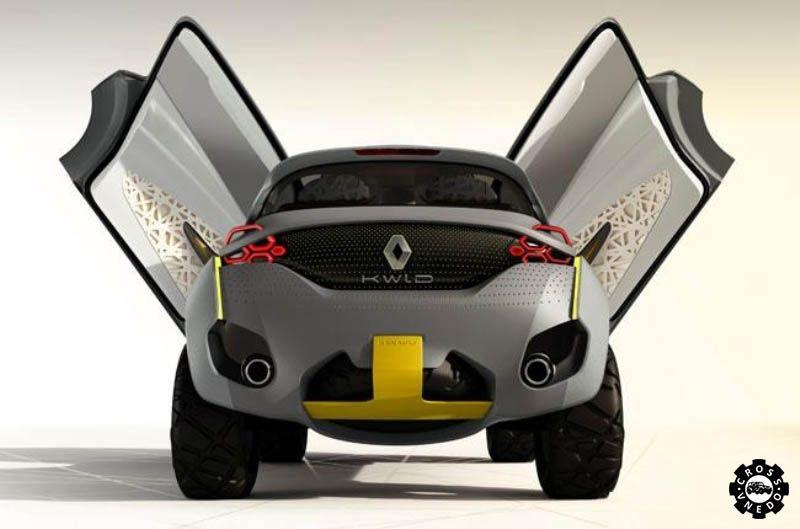 Необычный дизайн Renault KWID
