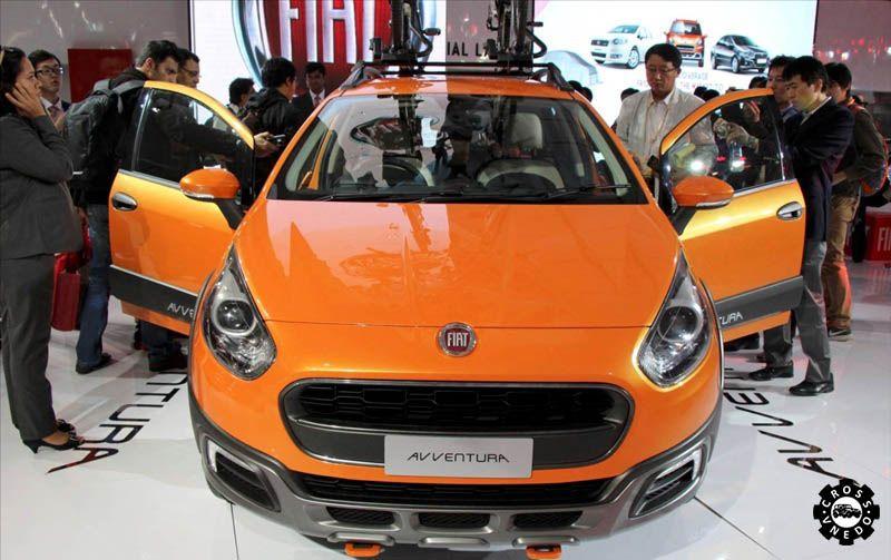 Новый Fiat Avventura