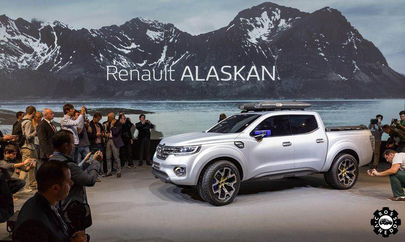 Презентация кроссовера Renault Alaskan