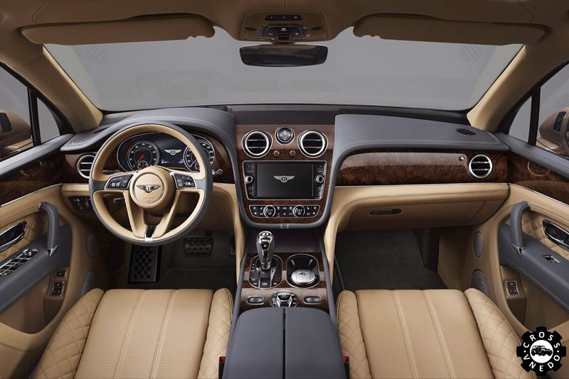 bentley bentayga фото салона