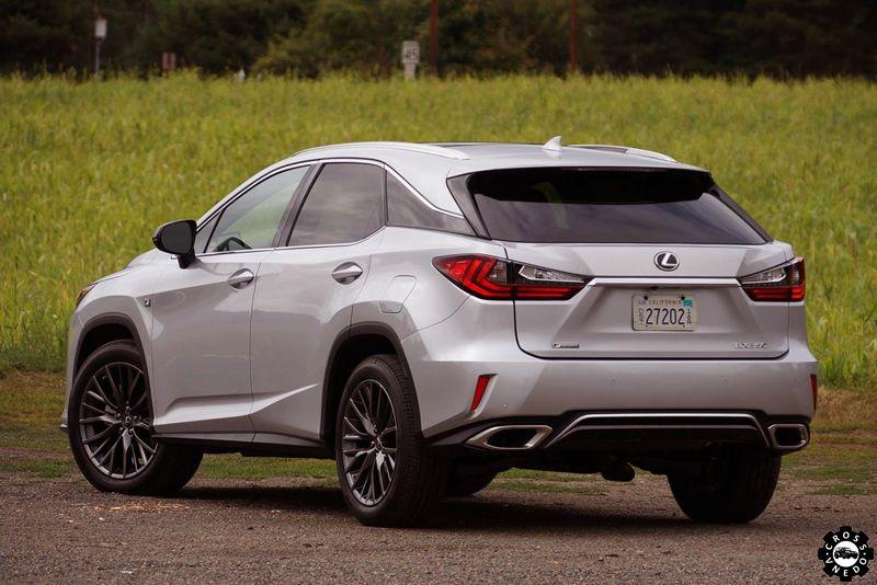 Lexus RX 2016 в новом кузове