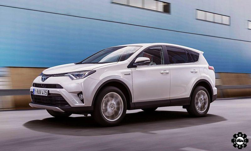 Toyota RAV 4 в новом кузове