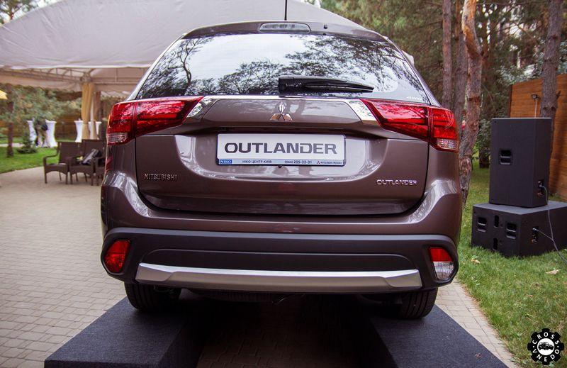 outlander 2016 задок