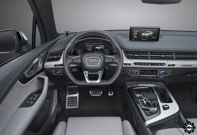 Audi SQ7 салон