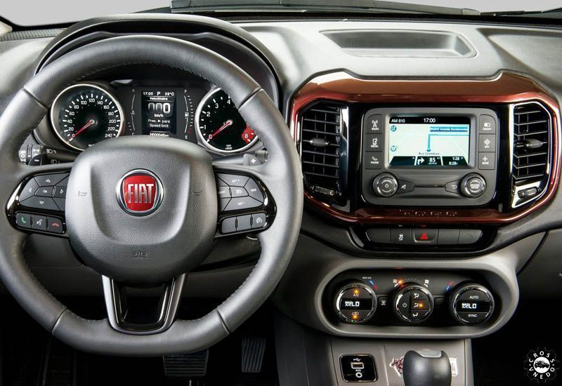 Fiat Toro 2016-2017 салон