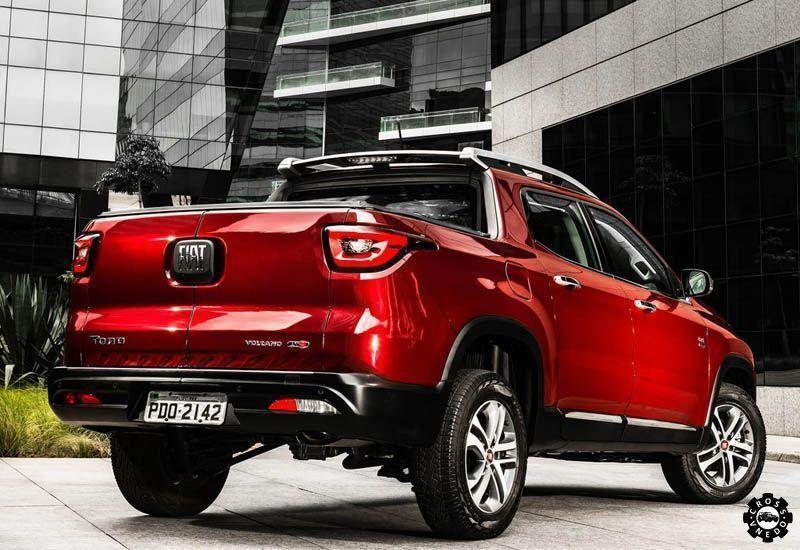 pickup Fiat Toro 2016-2017