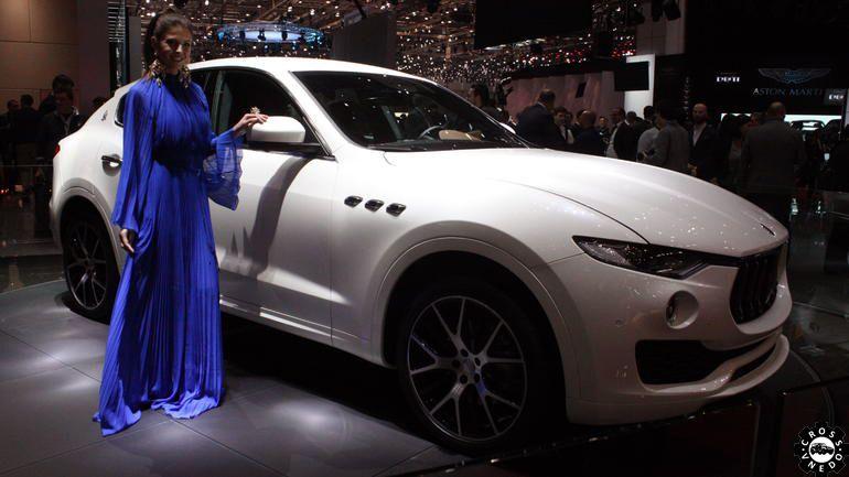 Maserati Levante в Женеве