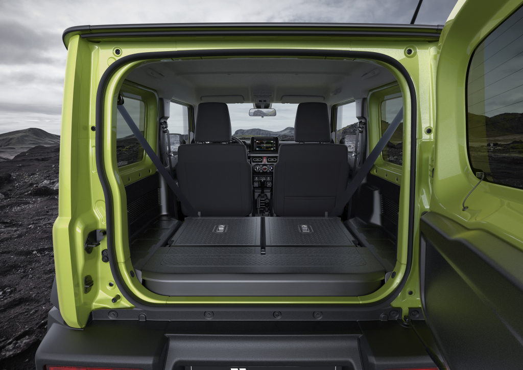 Сузуки 2019 в багажнике